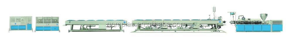 High efficiency PIPE CO- EXTRUSION LINE