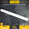 Hot Vapor Tight Explosion Proof Cleanroom Ip65 Linear 8Ft 4Ft Led Lighting Fixture