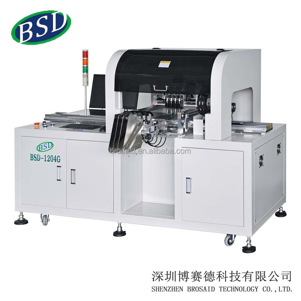 4 heads belt pcb assembly making machine of BSD-1204G