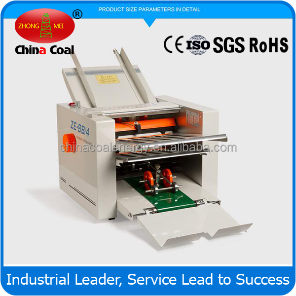 High Quality Automatic A3 Paper Folding Machine chinacoal group