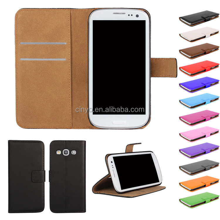 for samsung s3 case cover, for samsung galaxy s3 i9300 wallet case cover