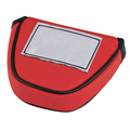 Red Quality PU Mallet golf putter headcover