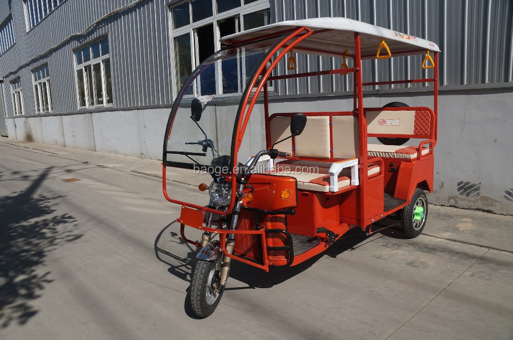 2016 battery adult electric rickshaws /electric passenger tricycles