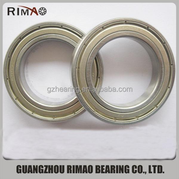 Thin wall deep groove ball bearing z catalogue