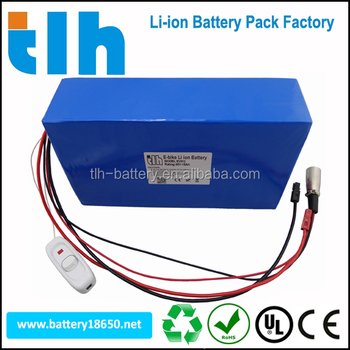 High quality 48v 15ah rechargable batteries battery