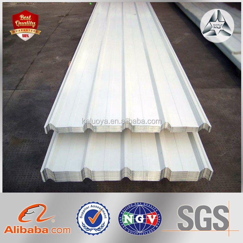 Color Coated Galvanized/Galvalume Steel Sheets/Plates GI and PPGI Corrugated Roofing Sheet