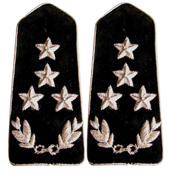Factory Supply Bullion Wire shoulder Epaulets embroidered Epaulettes