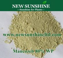 Mancozeb 80%WP manufacturers for Agrochemicals
