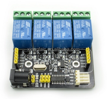 Relay / Serial TTL / 4-way control panel / can be used to ASR-M08-A speech recognition module