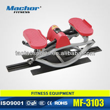 Nuovo mini stepper/twist stepper/corpo stepper con manubrio e tappeto in pvc
