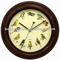 Bird Music Wall Clock For Promotional
