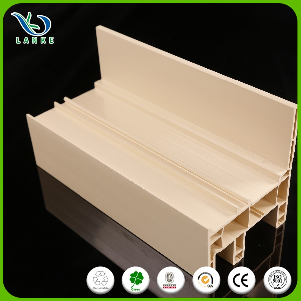 Anti UV Pvc Frame Profile for windows and doors