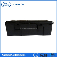 OP manufacture FDA ISO CE approved black nylon car auto first aid bag