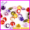 Zircon Material Crystal Glass Loose Gemstone For Jewelry