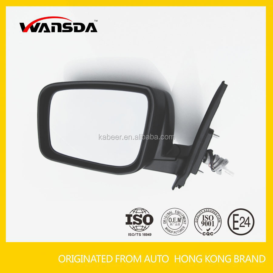 Car folding side mirror auto door mirror for 2007 Qashqai with 5 wires