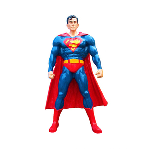 High quality fiberglass movie Action figure Superman iron man statue