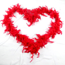 Cheap feather boa bulk , turkey feather boa for carnival costumes decoration