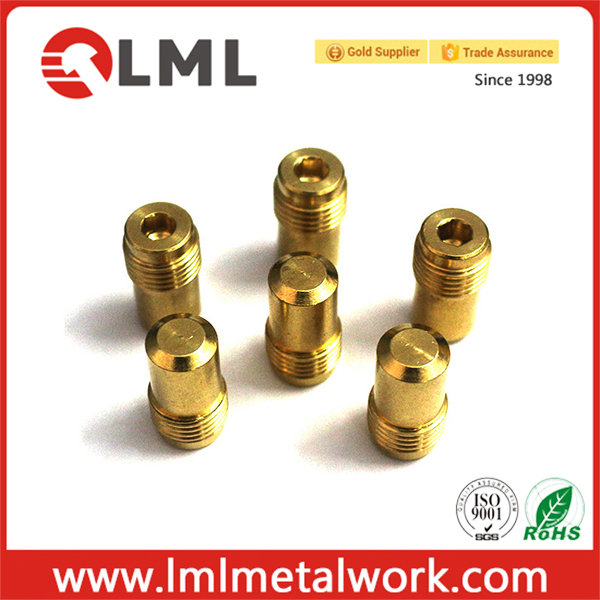 OEM Different CNC Lathe Turning Brass Pin For Machines