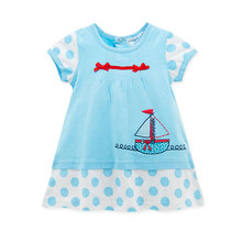 Wholesale 100% Cotton Baby Clothes Baby <strong>Girl's</strong> <strong>Dresses</strong>