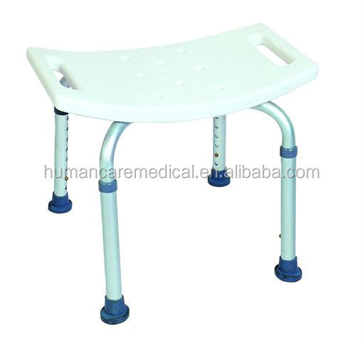 Discount plastic shower bench