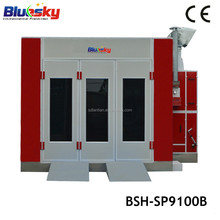 Best quality saico spray booth/spray booth heating system/spray car paint