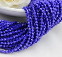 Zhejiang Jinhua Pujiang Crystal Bicone Beads Glass Beads for Jewerly Making Imitation Jade Beads