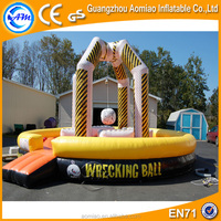 Giant Inflatable Wrecking Ball For Sale ,Inflatable Bouncy Wrecking Ball Game