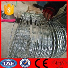 high tensile galvanized decorative barbed razor wire fencing rolls prices