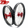 Aluminum Motorcycle Wheel Rim Set, Including Wheel Hub And Spokes
