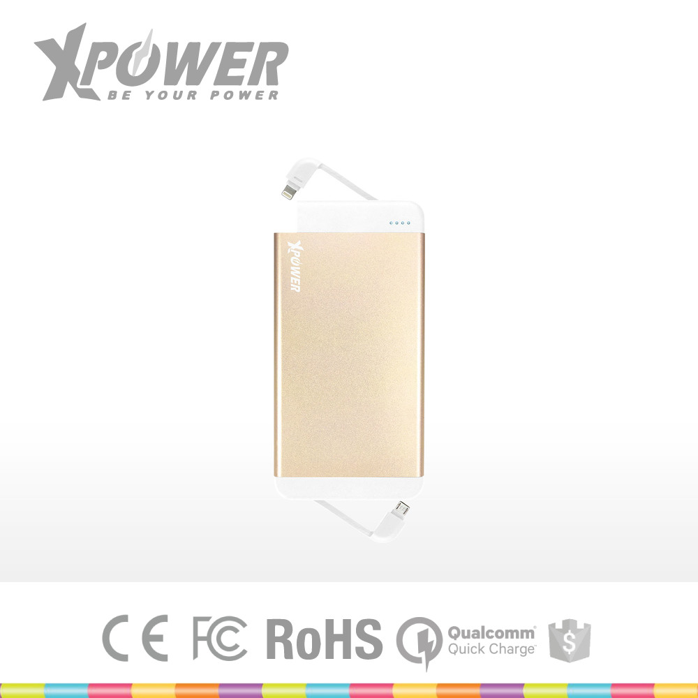 Custom made Christmas RoHS Aluminium Alloy Material Dual ports Ultra Light Gold cell phone Mobile Phone Charge for smart phone