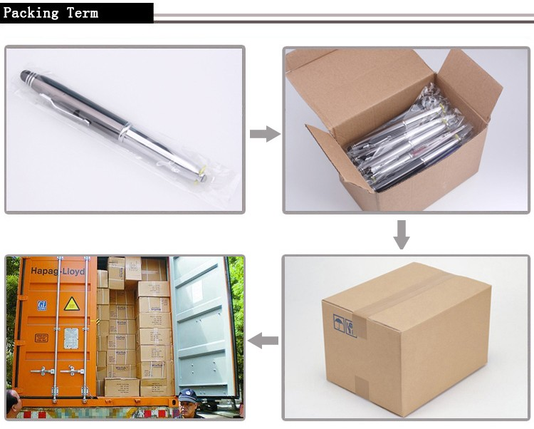 2016 china wholesale promotional pen with logo print metal cheap promotional metal ballpoint pen for promotion