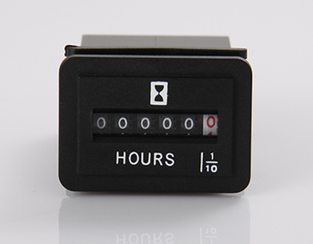 AC/DC Mechanical Engine Hour Meter For Truck Generator Snowmobile Golf Cart