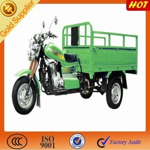 Hot selling three wheel motorcycle for open cargo