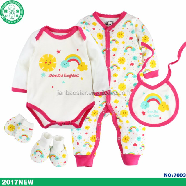 Newborn Baby Girl Gift Set Super Cute Baby Clothes Online Wholesale Shopping