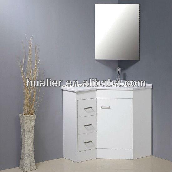 Moderne freistehende mdf badezimmer eckschrank kabinett des badezimmers produkt id 757845580 - Eckschrank badezimmer ...
