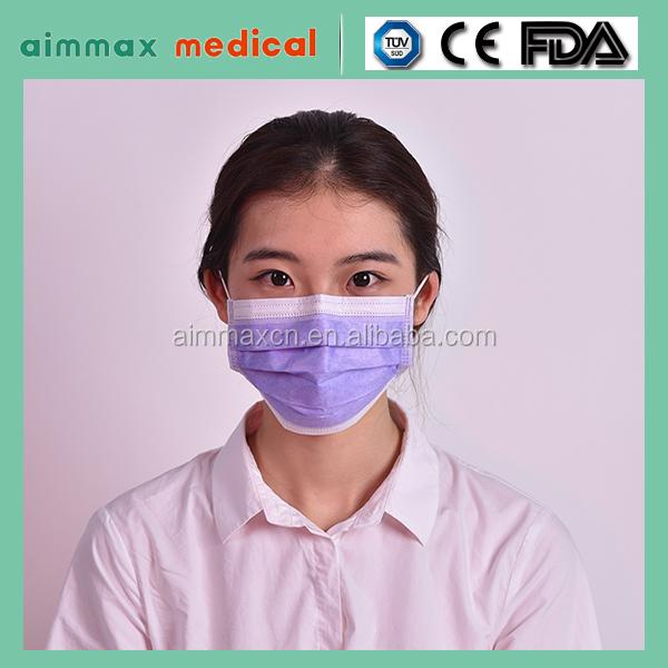 Disposable medical adult kids children face masks for allergies