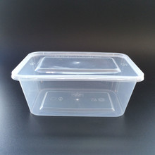 Hot Disposable 1000ml Plastic Apple Container