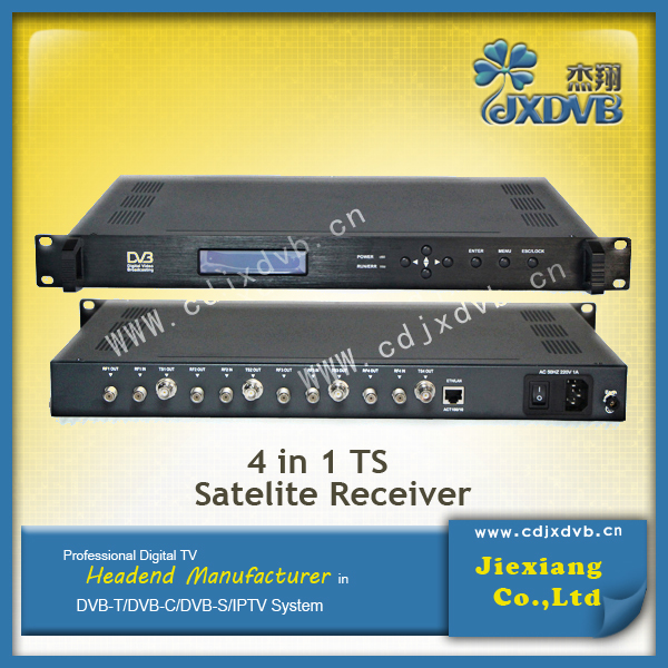 Sichuan 4 to 4 free to air digital satellite receiver hd