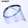 PVC/PC face shield with aluminum edge from jinhua HF Safety