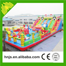 Large Air Bouncer Inflatable Trampoline, Hot Sale Bouncy Castle Inflatable For Rental Business