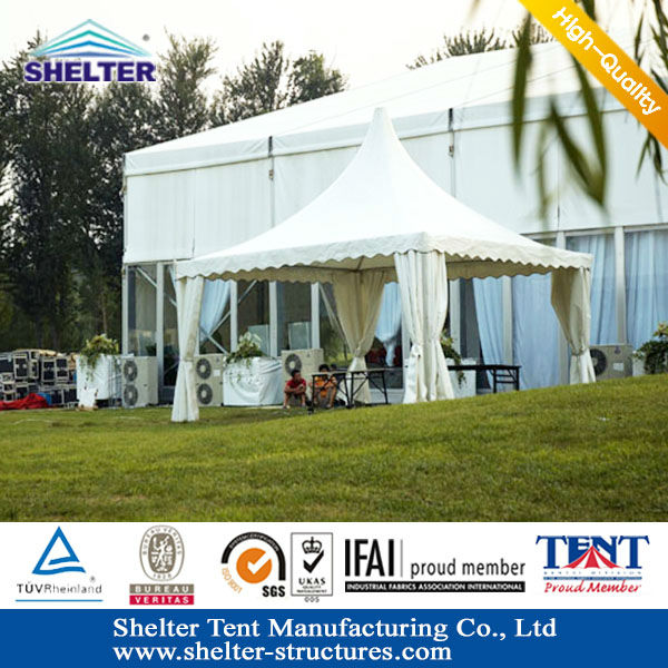 4x4 second hand pagoda tents for party sale easy to set up on any grond grass dirt