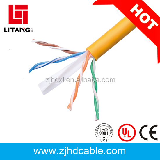 OEM factory price communication cable cat6 keystone jack 305m roll price