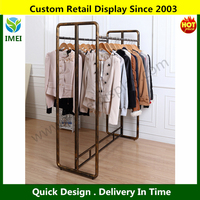 High Quality metal steady flooring clothes display counter