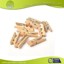 kids clothes natural top quality craft wooden clothes pegs best price