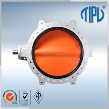 Bare Shaft Center Line PTFE Lined Butterfly Valve
