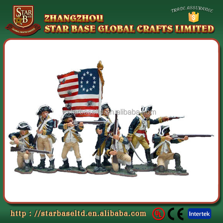 Custom made wholesales collectable military medieval toys