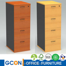 Good quality high 4 drawers wooden filing cabinet