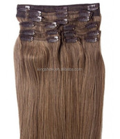 bulk buy from china clip-in yaki human hair extensions