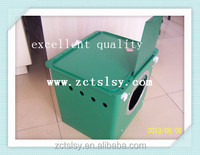 poultry used plastic rabbit box nest for mothe rabbit and little bunny
