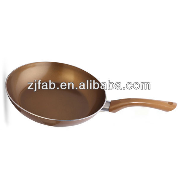 Golden Non Stick Aluminum Ceramic Marble Fry Pan